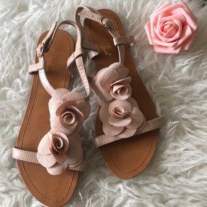 Madeline Stuart Flower Sandals